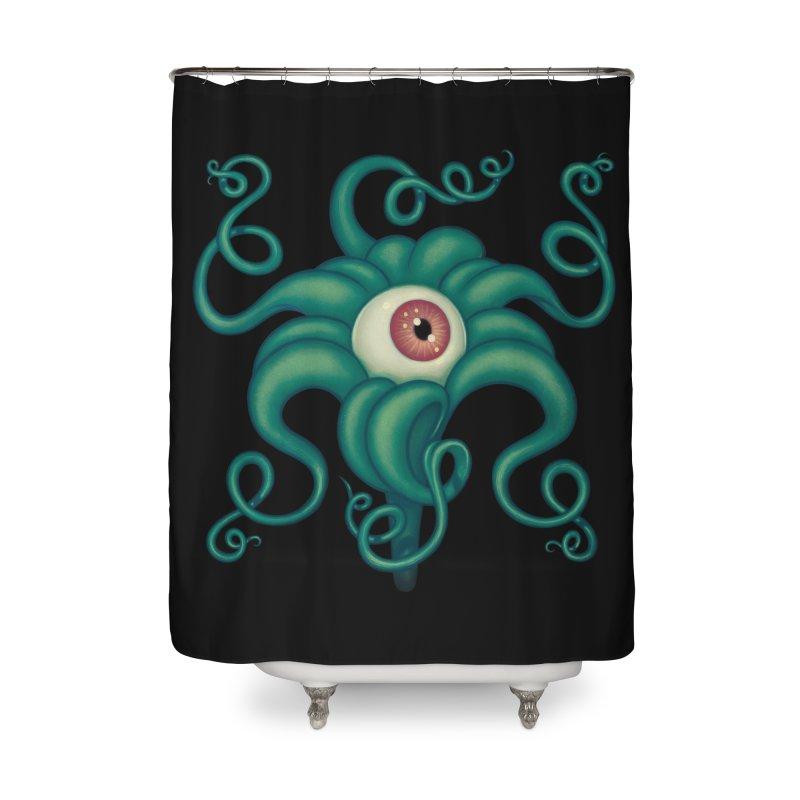 Lily Eye Home Shower Curtain by Tara McPherson