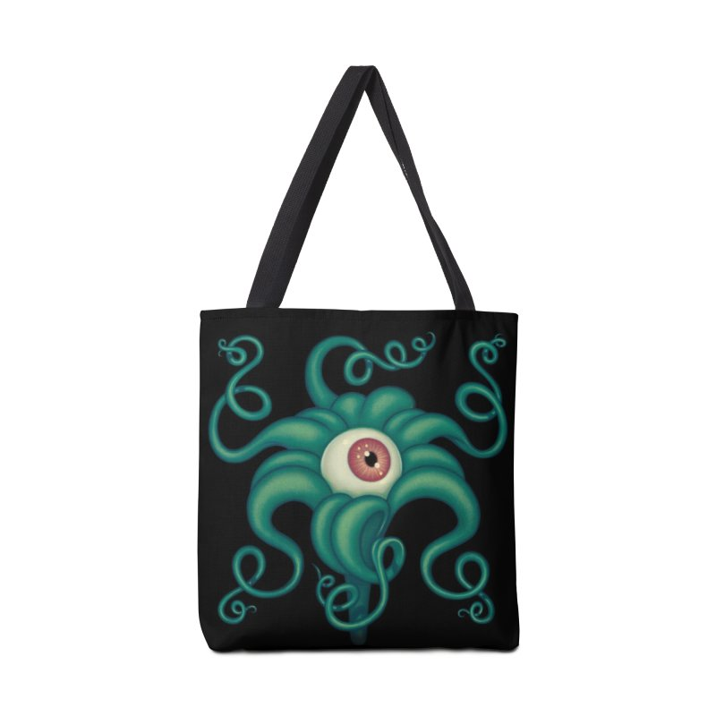 Lily Eye Accessories Tote Bag Bag by Tara McPherson