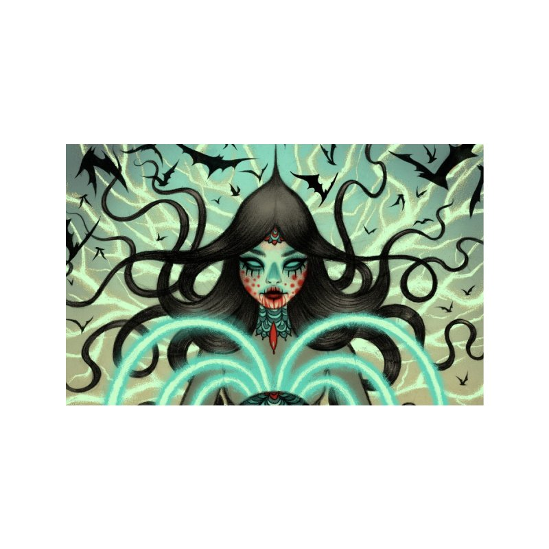 Magnetic Witch Accessories Face Mask by Tara McPherson