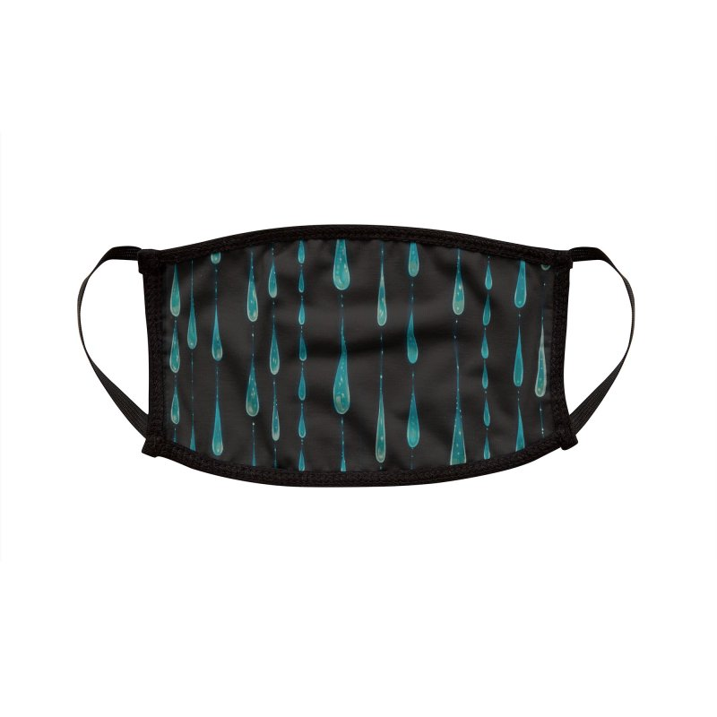 Drips Accessories Face Mask by Tara McPherson