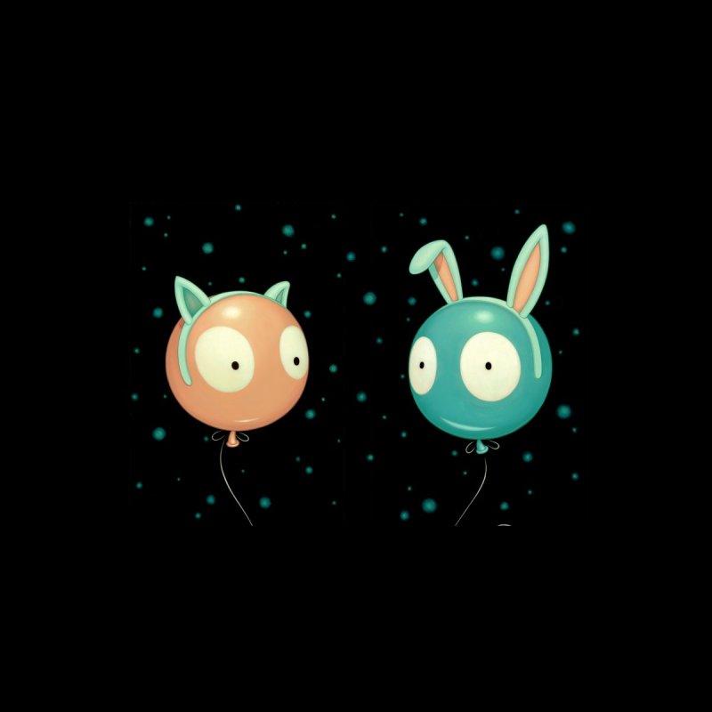 Kitty and Bunny Wiggle Accessories Mug by Tara McPherson
