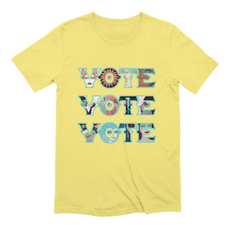 VOTE VOTE VOTE Men's T-Shirt by Tara McPherson