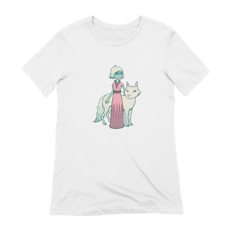 Astra & Orbit Women's Extra Soft T-Shirt by Tara McPherson