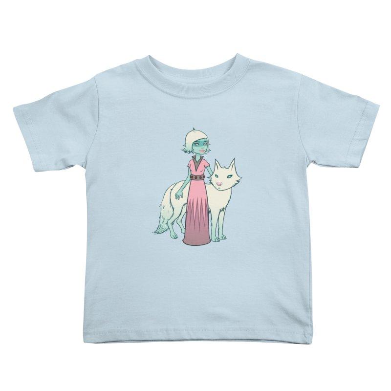 Astra & Orbit Kids Toddler T-Shirt by Tara McPherson