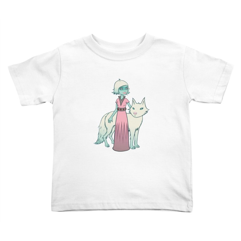 Astra & Orbit Kids Toddler T-Shirt by Tara McPherson