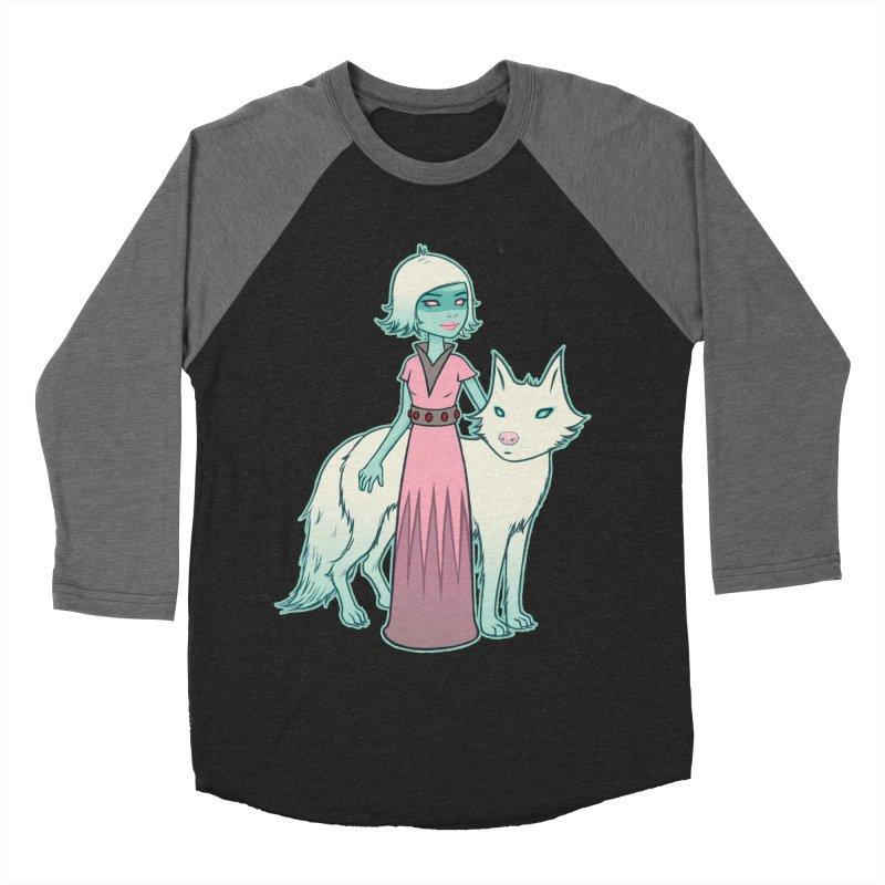 Astra & Orbit Women's Baseball Triblend Longsleeve T-Shirt by Tara McPherson