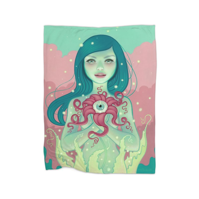 Bloom Home Blanket by Tara McPherson