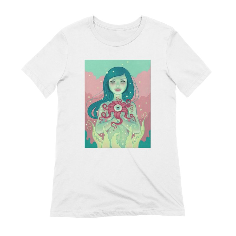 Bloom Women's Extra Soft T-Shirt by Tara McPherson