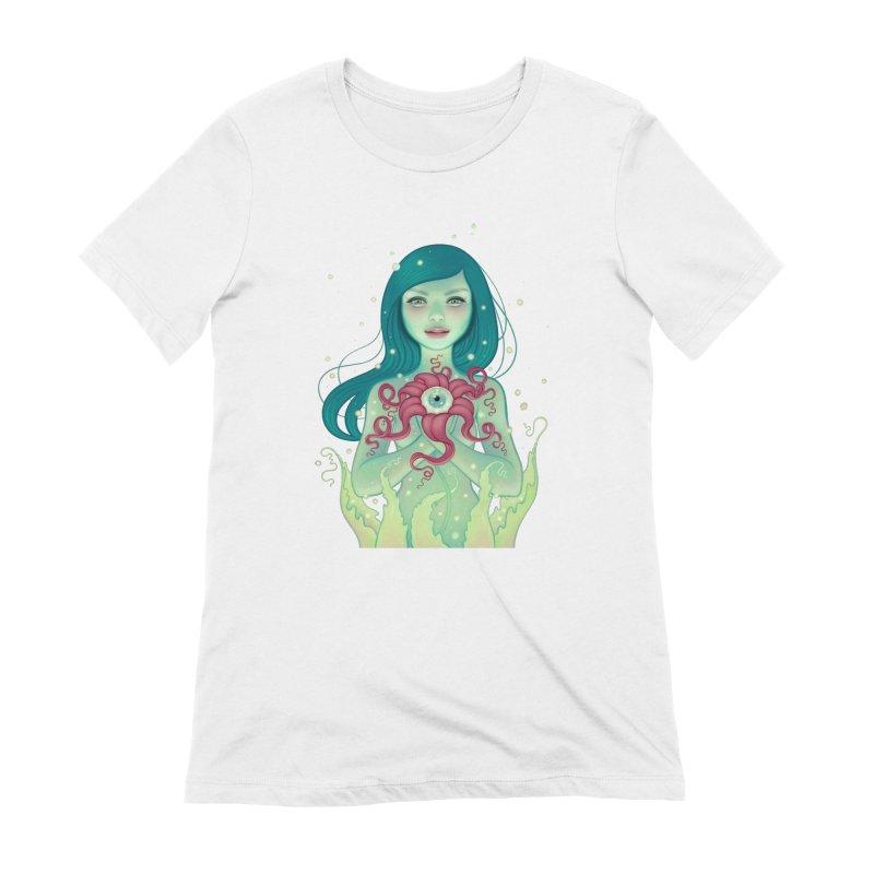Bloom Women's Extra Soft T-Shirt by Tara McPherson