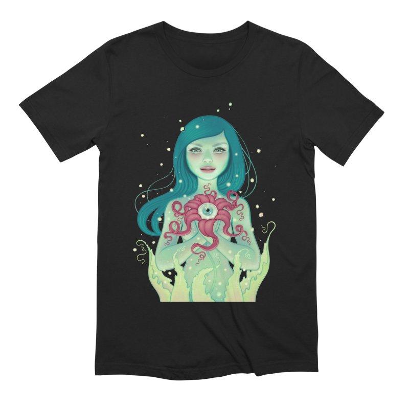 Bloom Men's Extra Soft T-Shirt by Tara McPherson