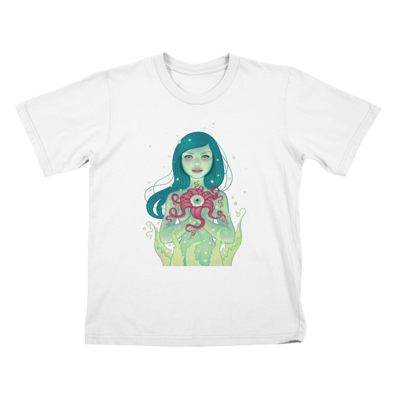 Bloom Kids T-Shirt by Tara McPherson