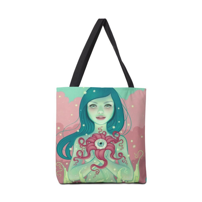 Bloom in Tote Bag by Tara McPherson