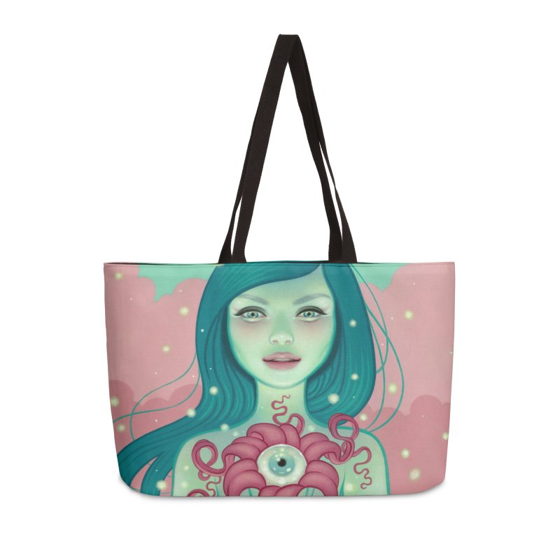 Bloom Accessories Weekender Bag Bag by Tara McPherson