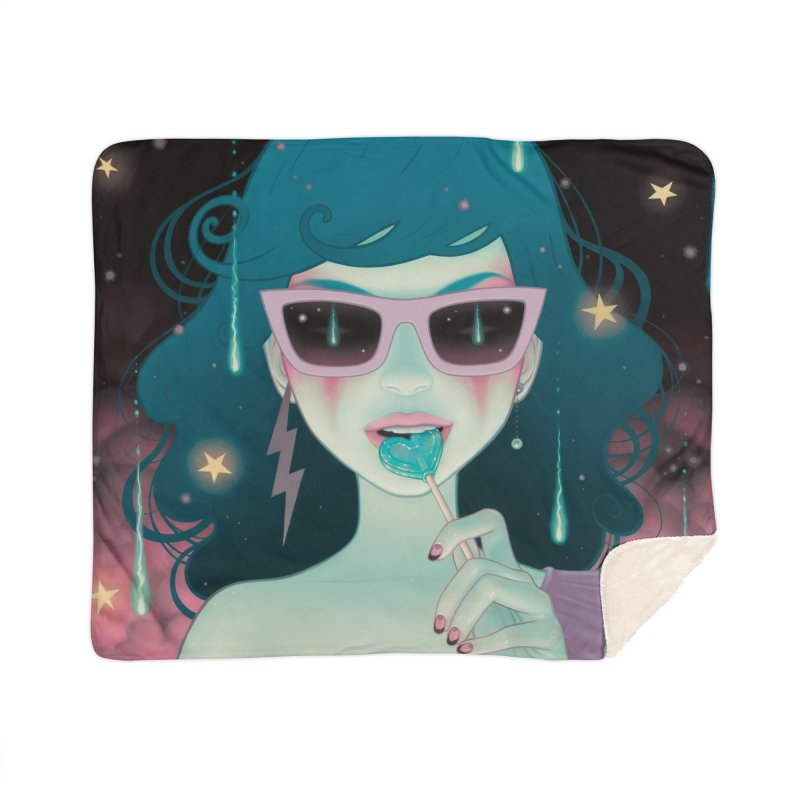 Electric Lola Home Blanket by Tara McPherson