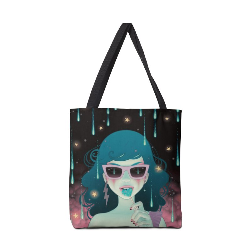 Electric Lola Accessories Tote Bag Bag by Tara McPherson