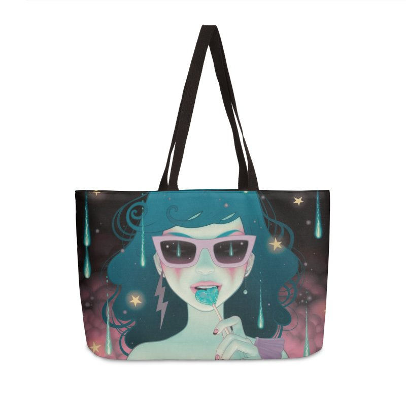 Electric Lola Accessories Weekender Bag Bag by Tara McPherson