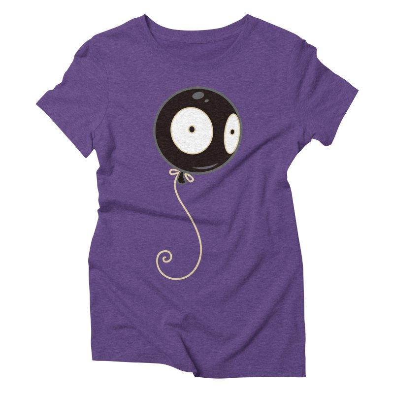 Mr. Wiggles Women's Triblend T-Shirt by Tara McPherson