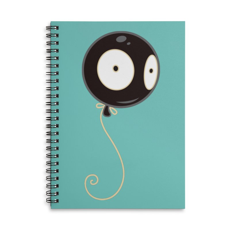 Mr. Wiggles Accessories Lined Spiral Notebook by Tara McPherson