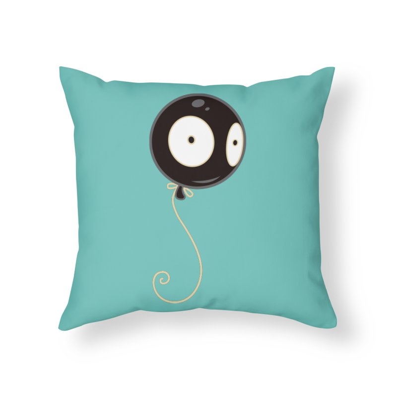 Mr. Wiggles Home Throw Pillow by Tara McPherson