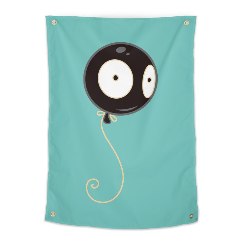 Mr. Wiggles Home Tapestry by Tara McPherson