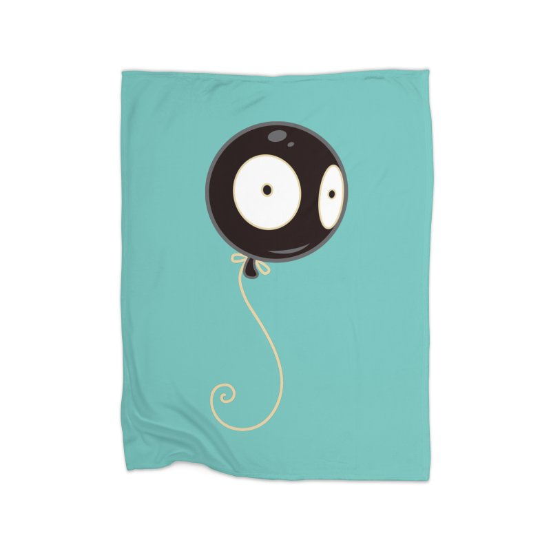 Mr. Wiggles Home Blanket by Tara McPherson