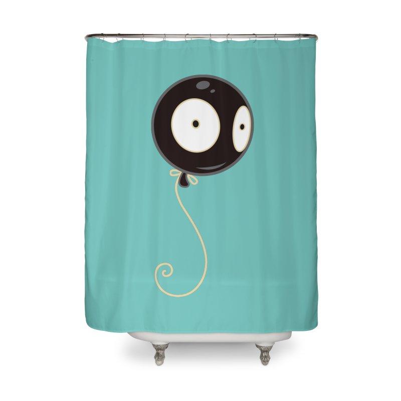 Mr. Wiggles Home Shower Curtain by Tara McPherson