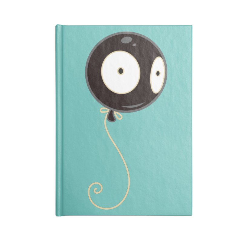 Mr. Wiggles Accessories Lined Journal Notebook by Tara McPherson