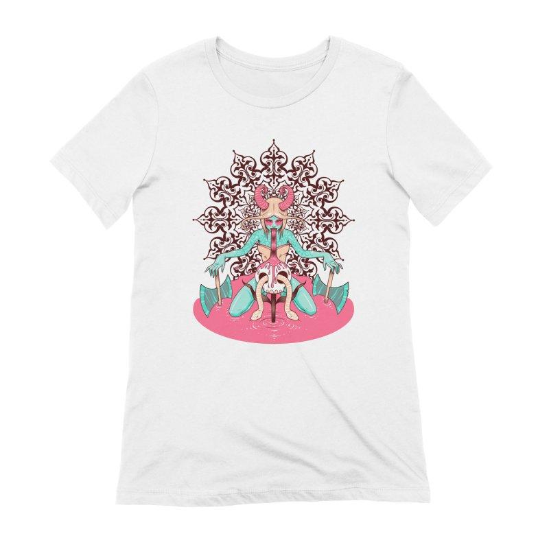 Demoness Women's Extra Soft T-Shirt by Tara McPherson