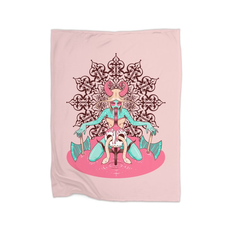 Demoness Home Blanket by Tara McPherson