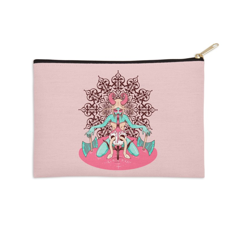 Demoness Accessories Zip Pouch by Tara McPherson