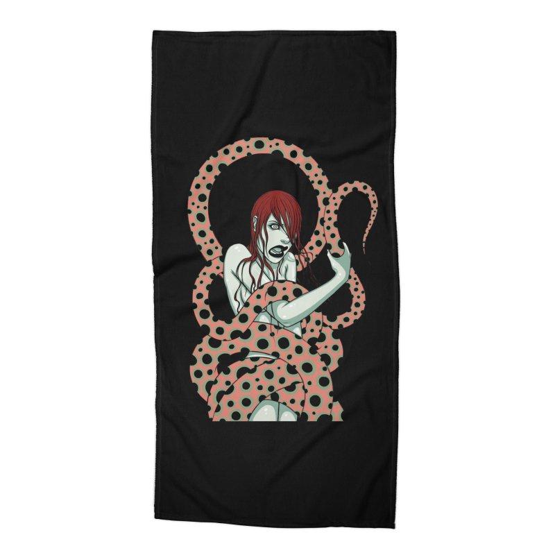 Snake Charmer Accessories Beach Towel by Tara McPherson