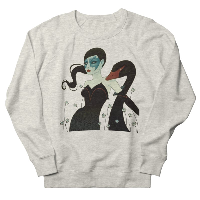 Black Swan Men's Sweatshirt by Tara McPherson