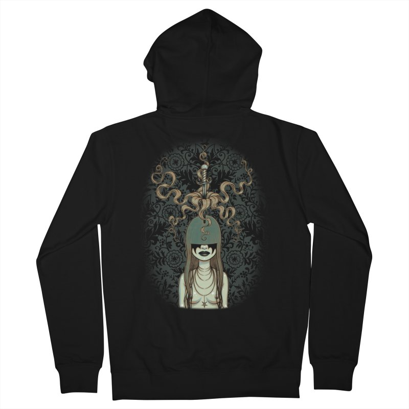 Sword Swallower Men's Zip-Up Hoody by Tara McPherson
