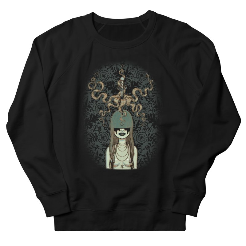 Sword Swallower Men's Sweatshirt by Tara McPherson