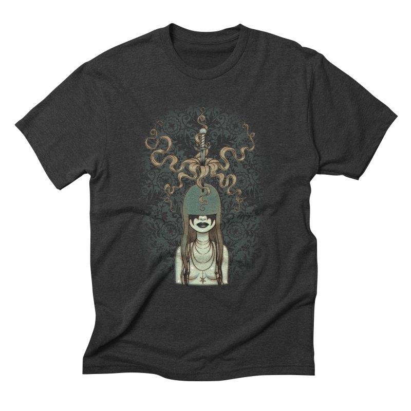 Sword Swallower Men's Triblend T-Shirt by Tara McPherson
