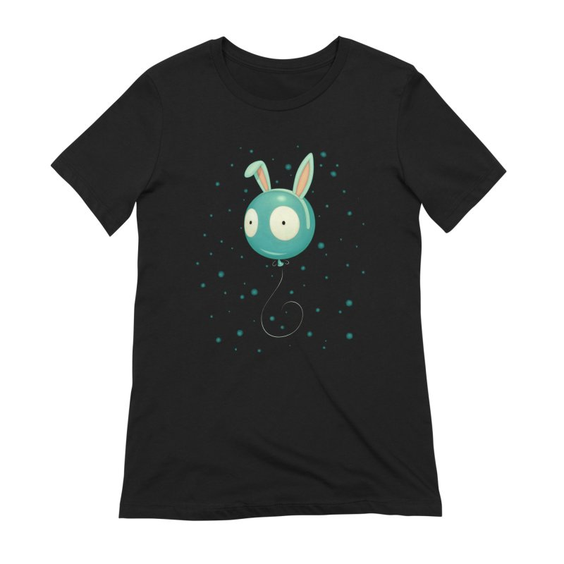 Bunny Wiggle Women's Extra Soft T-Shirt by Tara McPherson