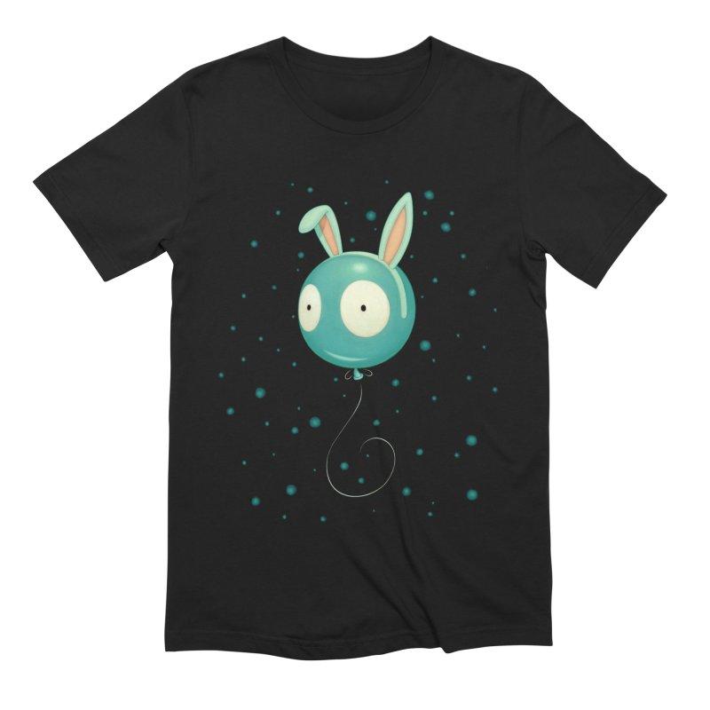 Bunny Wiggle Men's Extra Soft T-Shirt by Tara McPherson
