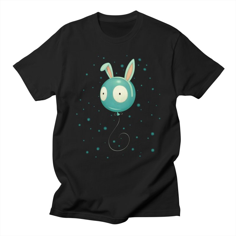 Bunny Wiggle Men's T-shirt by Tara McPherson