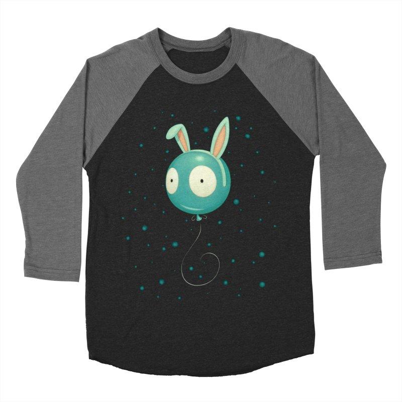 Bunny Wiggle Women's Baseball Triblend T-Shirt by Tara McPherson