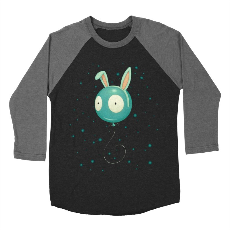 Bunny Wiggle Men's Baseball Triblend T-Shirt by Tara McPherson