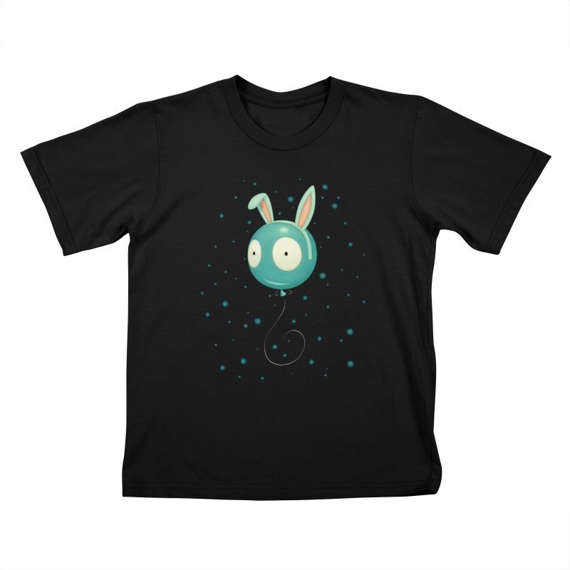 Bunny Wiggle Kids T-Shirt by Tara McPherson