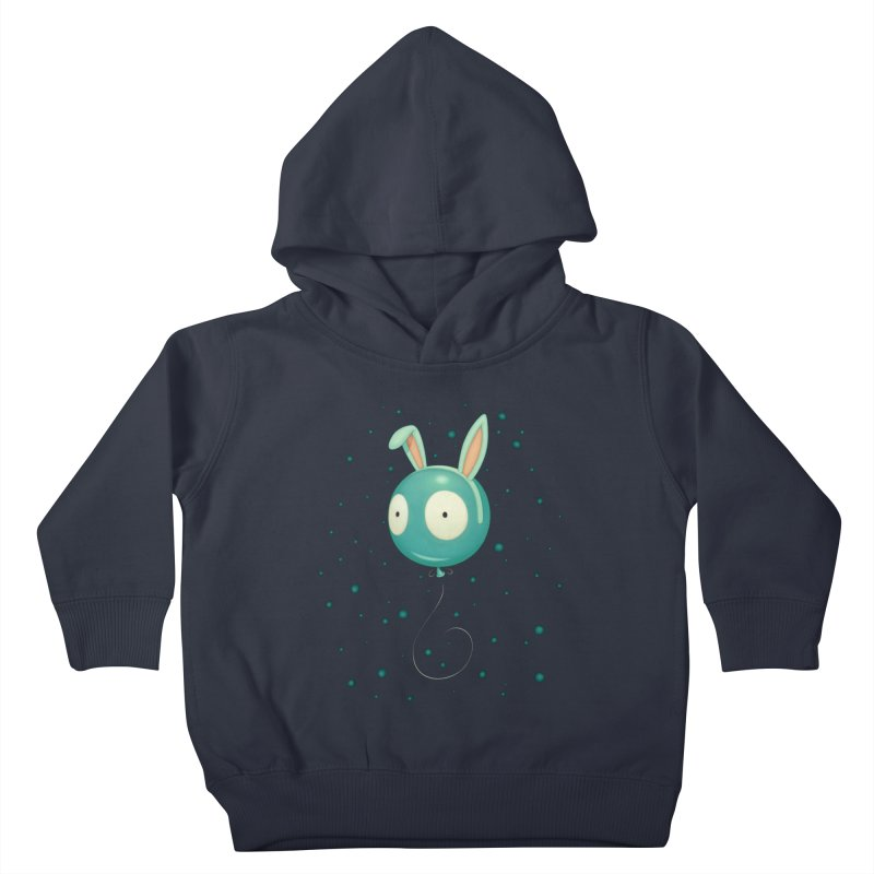 Bunny Wiggle Kids Toddler Pullover Hoody by Tara McPherson