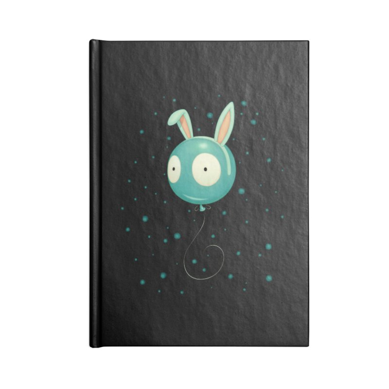 Bunny Wiggle Accessories Notebook by Tara McPherson