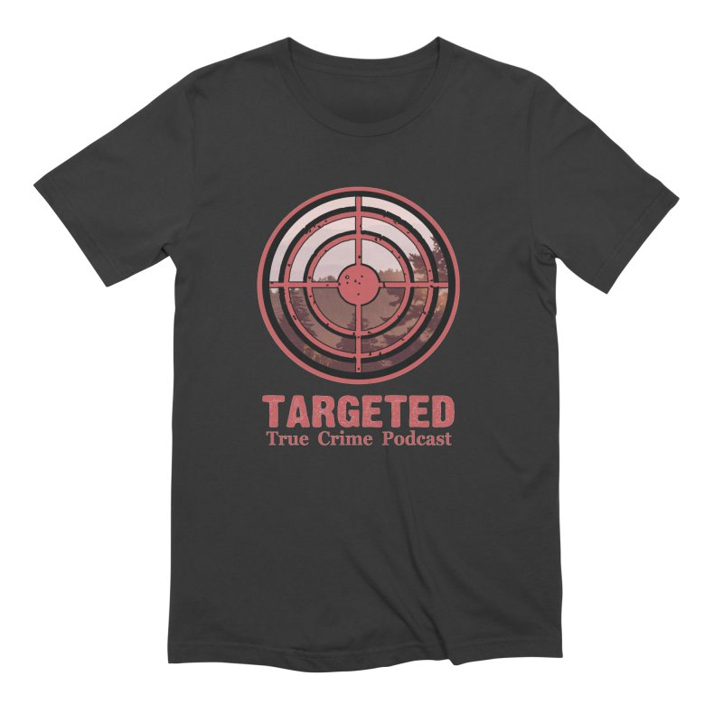 Targeted Podcast Mountain for Black Background Men's T-Shirt by targetedpodcast's Artist Shop
