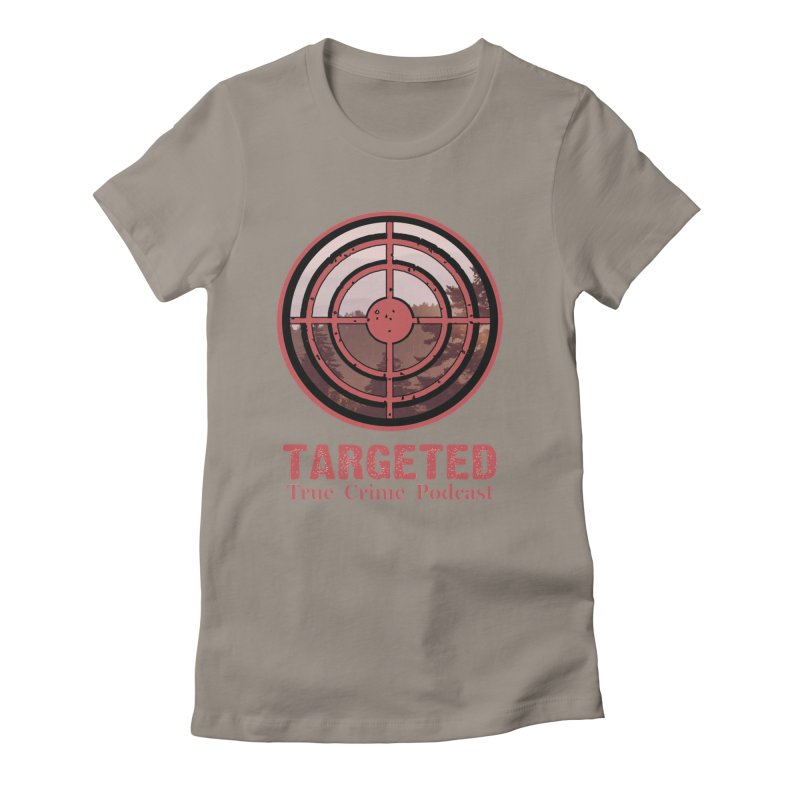Targeted Podcast Mountain for Black Background Women's T-Shirt by targetedpodcast's Artist Shop