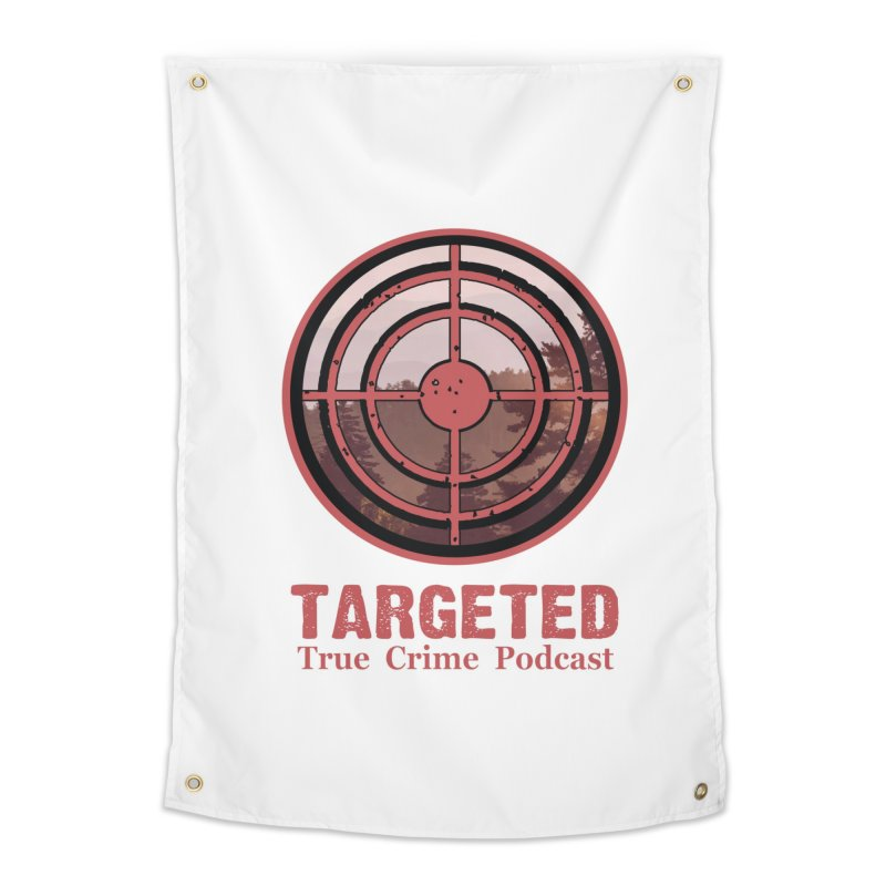 Targeted Podcast Mountain for Black Background Home Tapestry by targetedpodcast's Artist Shop