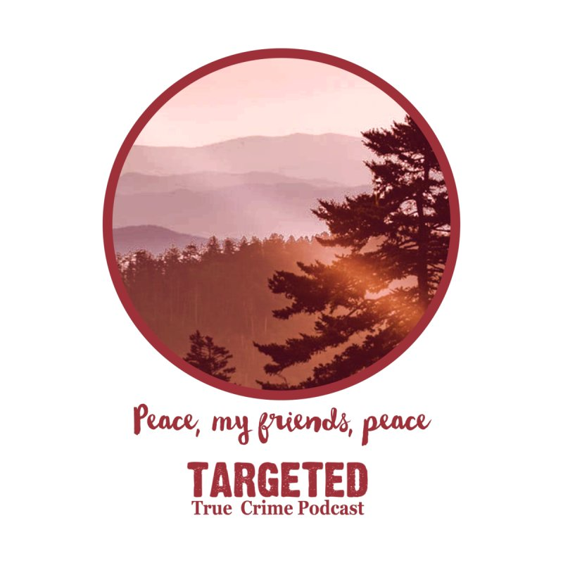 Peace Mountain Red Men's T-Shirt by targetedpodcast's Artist Shop
