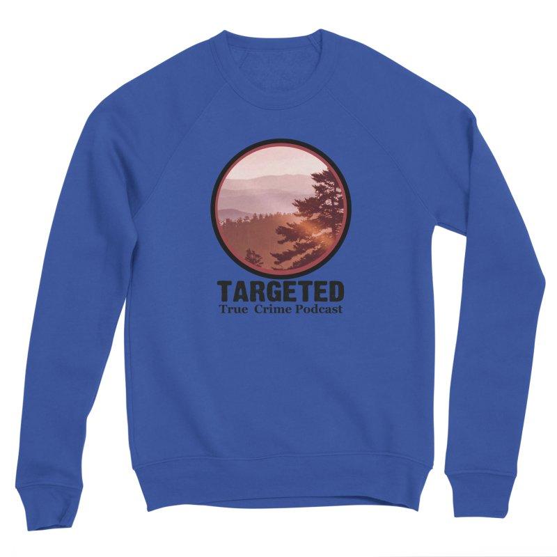 Mountain Logo Black Font Men's Sweatshirt by targetedpodcast's Artist Shop