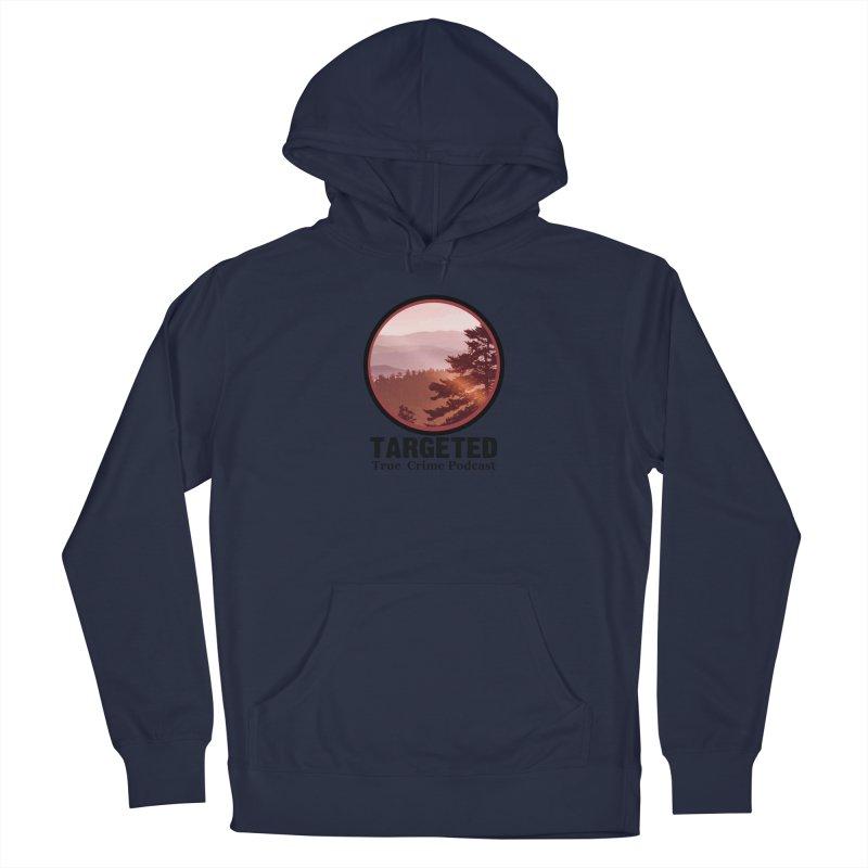 Mountain Logo Black Font Men's Pullover Hoody by targetedpodcast's Artist Shop