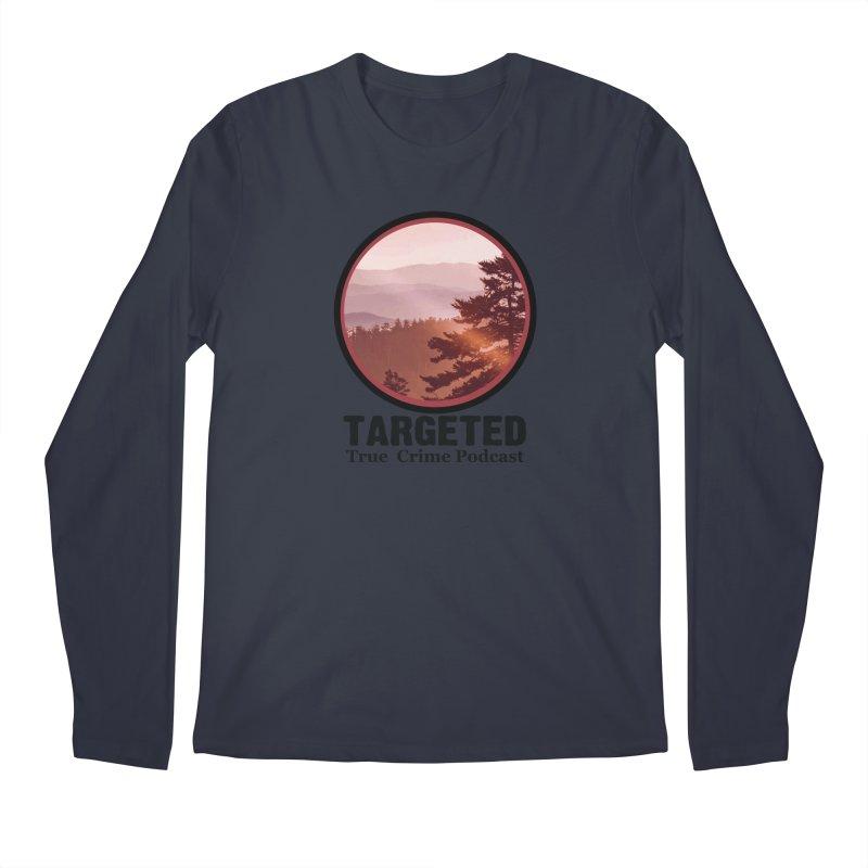 Mountain Logo Black Font Men's Longsleeve T-Shirt by targetedpodcast's Artist Shop
